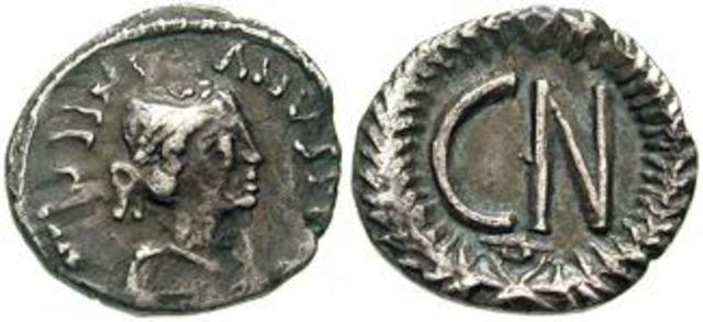 Denominación de las monedas de Bizancio. 1ª parte 250_nummi