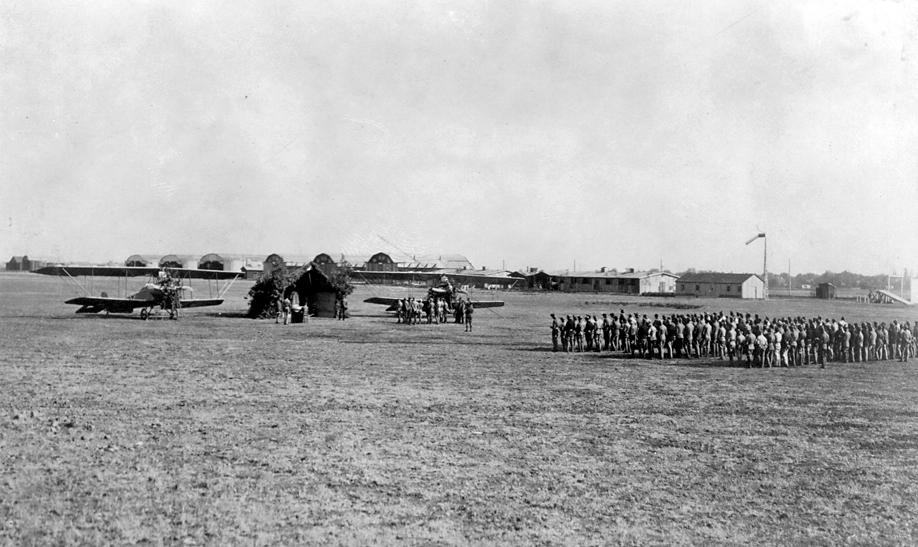 Aeroportul Arad - Poze Istorice 002_Arad_1918