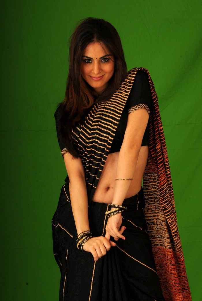 Shraddha Arya / შრადდჰა არია - Page 4 Shraddha_arya_hot_saree_photo_shoot_stills_6874