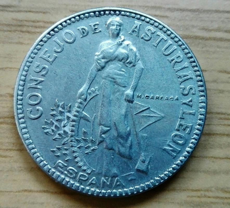 2 pesetas 1937. Consejo de Asturia y León. Guerra Civil - Página 2 IMG_20170422_190348