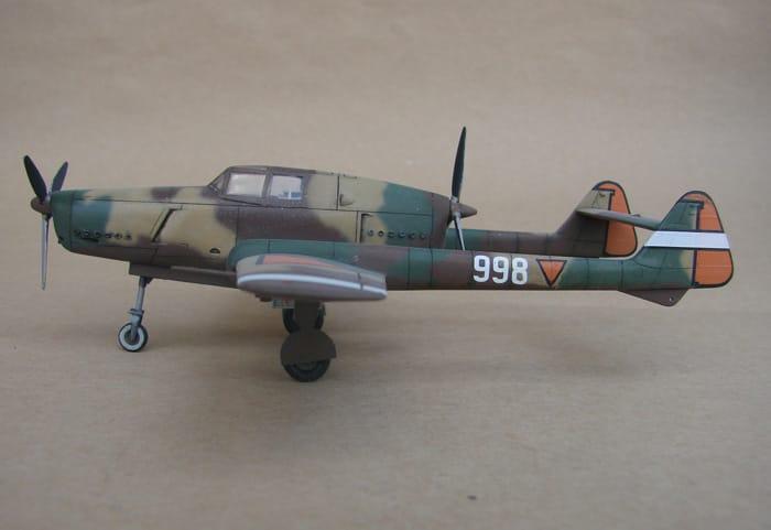 Fokker D-XXIII, RSmodels, 1/72 DSC02911