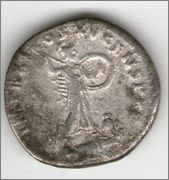 Denario de Domiciano. IMP XXI COS XV CENS P P P. Minerva. Roma. Smg_640b