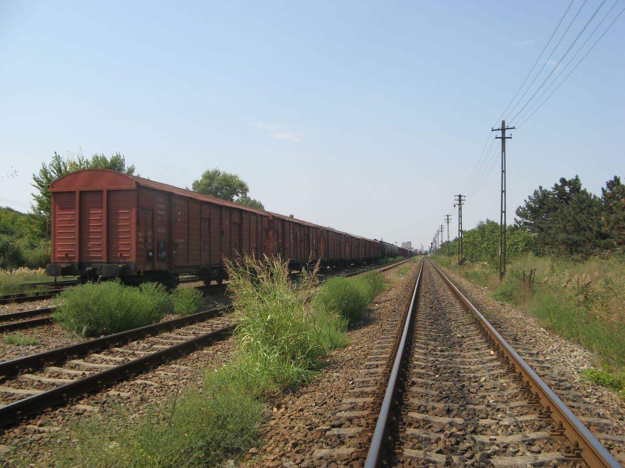 Calea ferată directă Oradea Vest - Episcopia Bihor IMG_0074