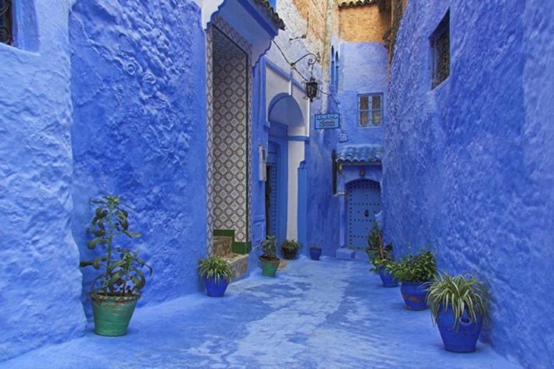 Svet oko nas - Page 14 Morocco_Blue_City
