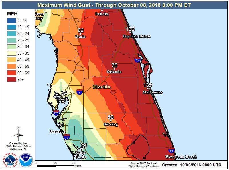 Hurricane Matthew Southeast Coast Discussion Thread - Page 2 FB_IMG_1475718292350