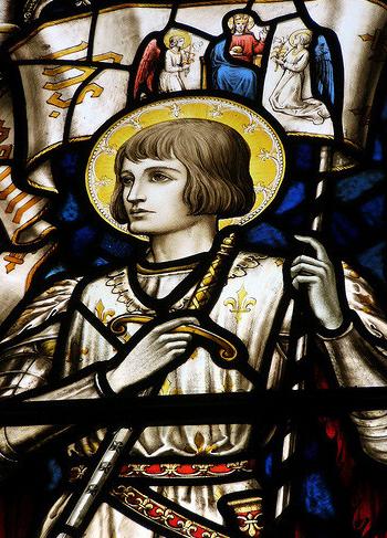 Jeanne d'Arc et La schizophrénie JEANNE_ARC