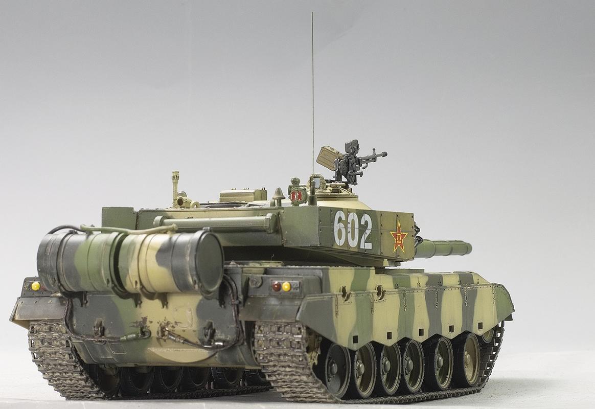 ZTZ-96A. Hobby Boss 1/35 Image