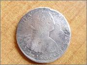 8 reales Carlos IV 1806 P1290809