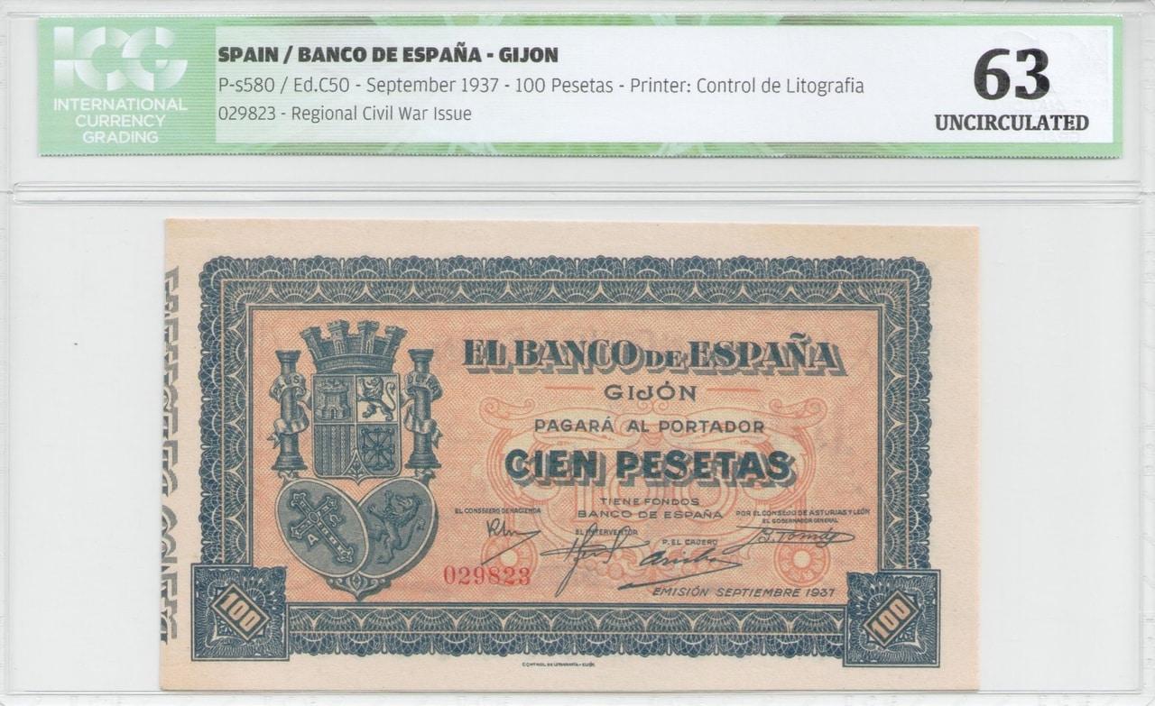 Colección de billetes españoles, sin serie o serie A de Sefcor - Página 2 Gij_n37_anverso