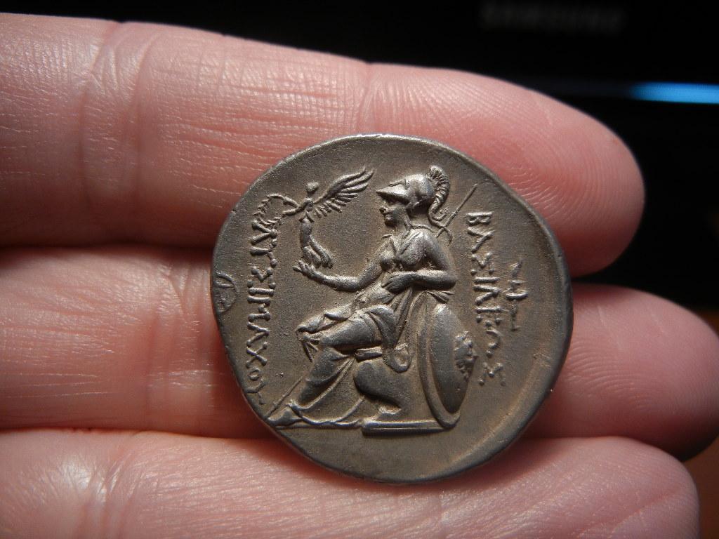 Tetradracma eubeo-ático de Lisímaco. Tracia (305-281 a.C). Increíble diseño. DSCN0076