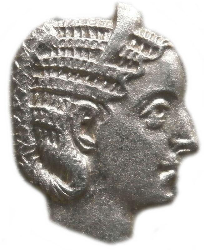 Antoniniano de Otacilia Severa. CONCORDIA AVGG. Concordia sedente a izq. Ceca Roma. Imagen6