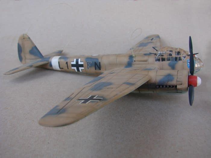 Junkers Ju-88A-4, Revell(rebuild), 1/72 DSC03194