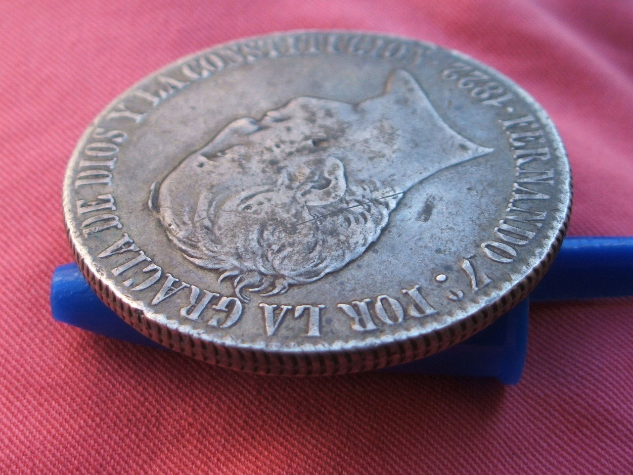 1822 - 20 Reales 1822 Fernando VII - Madrid. S-R. 022