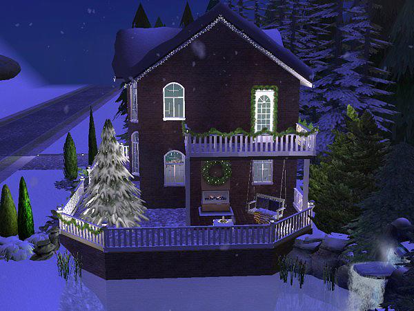 Hellohello: Domy Christmas_Lane_oudoor_19