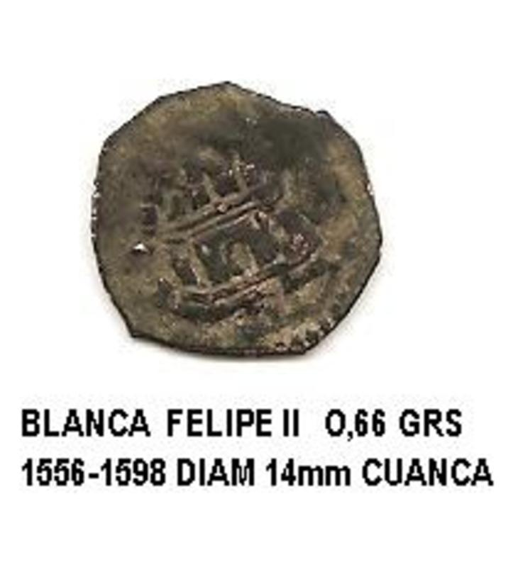 blanca de Felipe II año 1556-1598 Image
