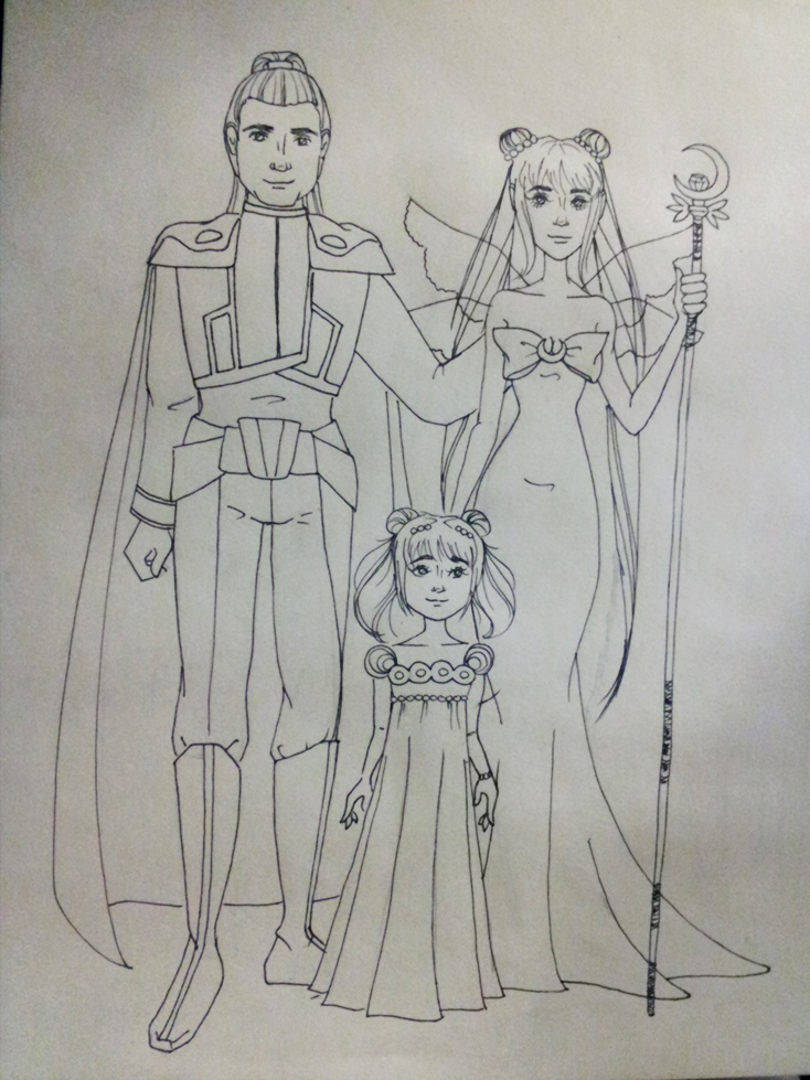 Plutonia's art stuffs (updated December 20th) Royal_Family_Moon
