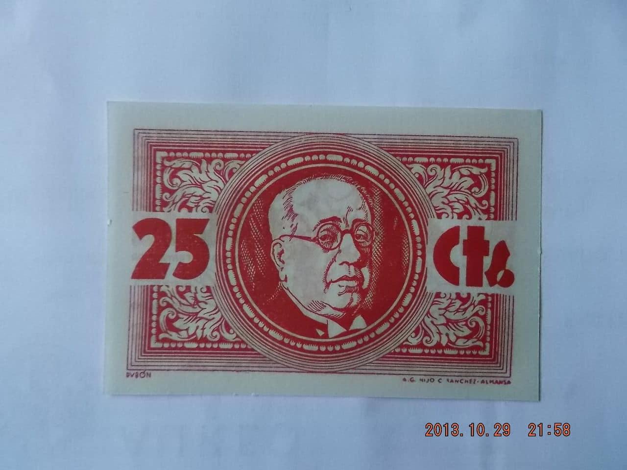 25 Céntimos Los Navalmorales, 1937 DSCF1135