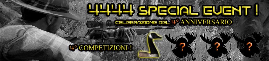 [CONCLUSA] 4444 Special Event - Competizioni ufficiali TheHunteritaly - Italian Goose Championship III edizione  - Oca Canadese - 1.Oca