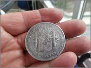 5   pesetas  1885*18-87* Alfonso XII - M.S.M  20131121_160015