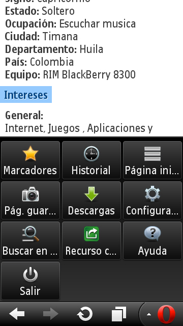 [APORTE] Oper Mini 7.1 Handler User Agent BlackBerry 8300 Image