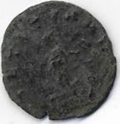 Antoniniano de Quintillo. LAETITIA AVG. Laetitia estante a izq. Ceca Roma. Scan2_0003
