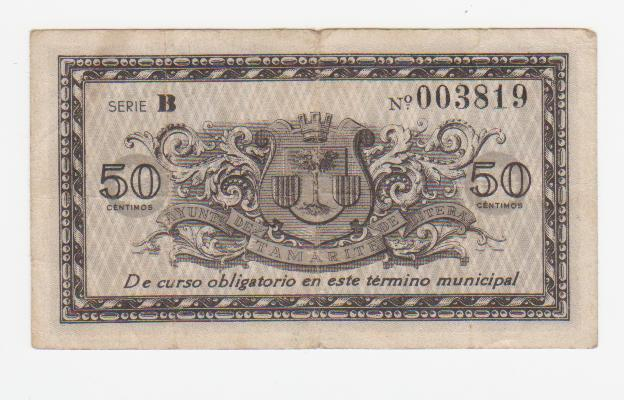 50 Céntimos Tamarite de Litera, 1937 Tamarite_50_centimos_1937_001