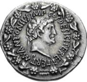 Glosario de monedas romanas. CORONA PAMPINEA. Image