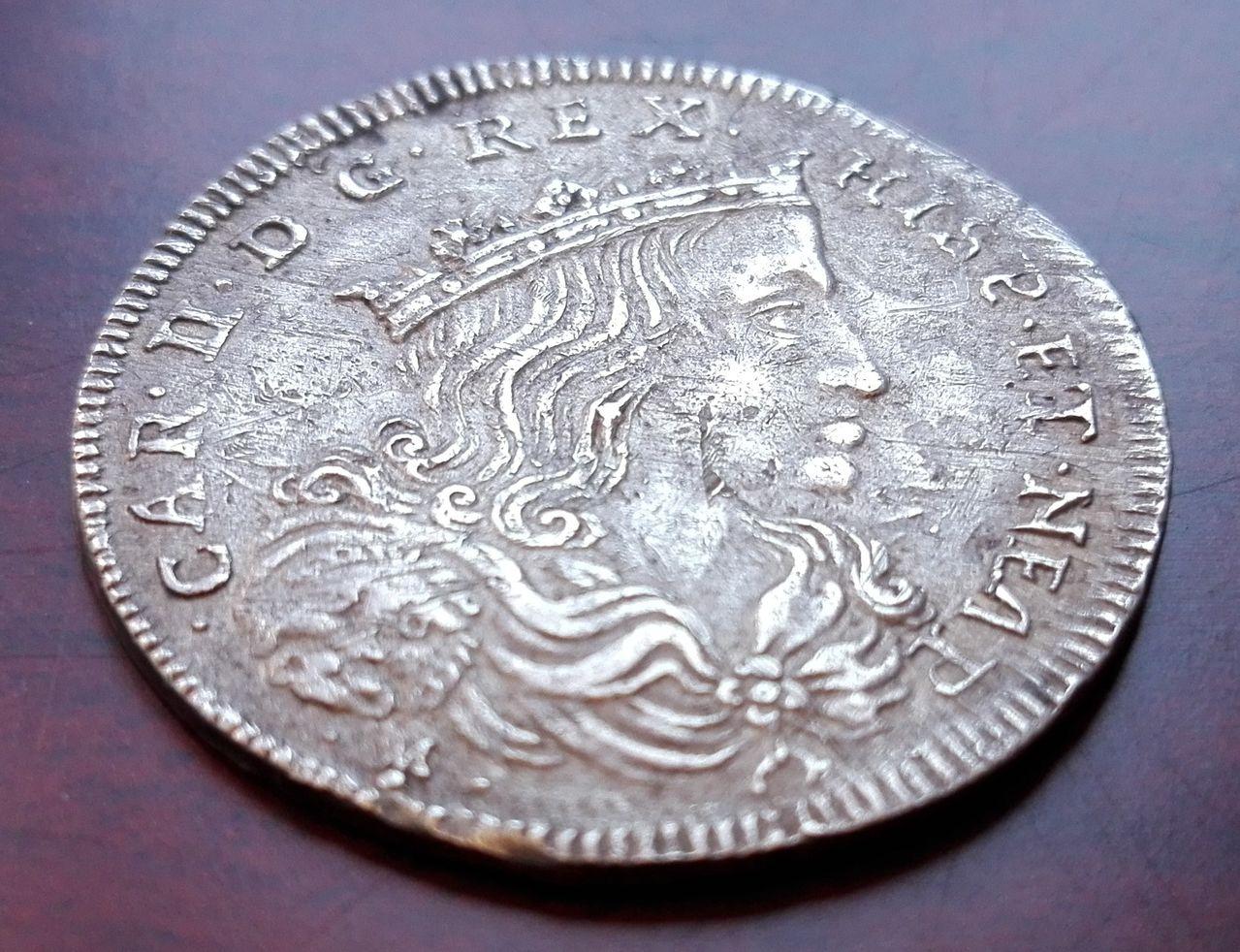 20 grana 1700 Napoles, Carlos II (dedicada a joris) 20_grano_1700_2