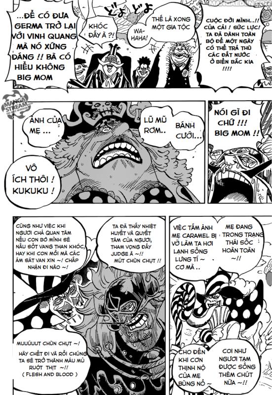 One Piece Chapter 864: Thảm sát toàn gia Vinsmoke Image