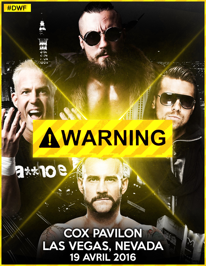 Petit concours - DWF 1st PPV Poster WARNING01