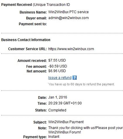 Win2winbux - win2winbux.com Win2winbuxpayment