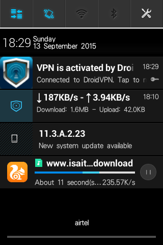Nigeria - How To Get The Airtel New Working TCP- VPN Trick - Nigeria Only Screenshot_2015_09_13_18_29_43