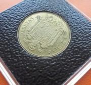 2,50 pesetas 1953 (*19-71). Estado Español. DEDIT LOBO DSC06993