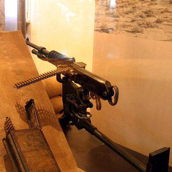 Ametralladora Hotchkiss M1914 AMET_HOT_museo