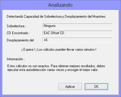Como hacer una copia exacta de un CD de audio con EAC EAC16