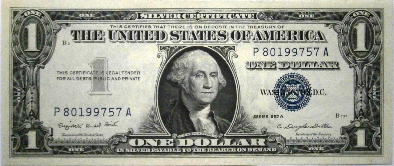 Estados Unidos 1 Dolar Serie 1957 P1010004