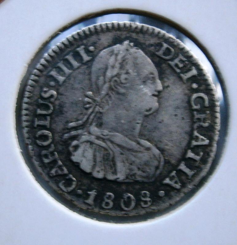 Carlos IV 1/2 Real 1808 Potosi  P1010040