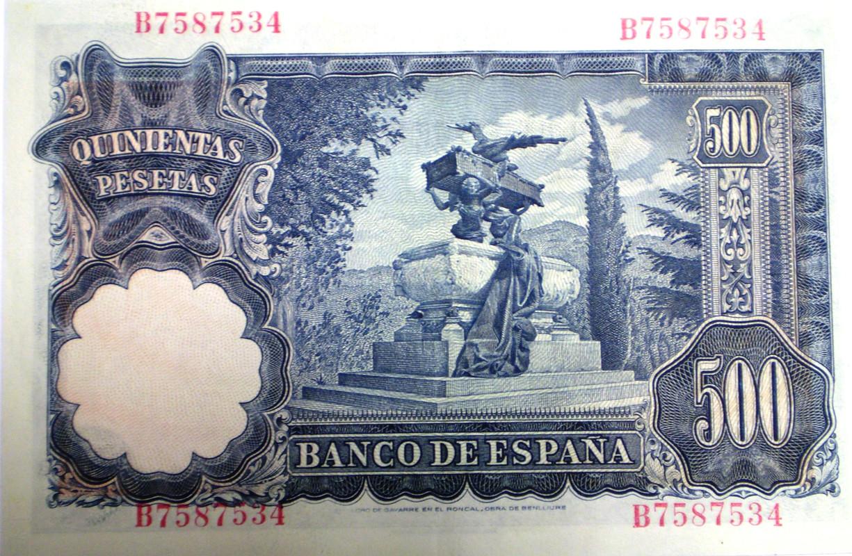 500 Pesetas 1951 Muy Bonito 021