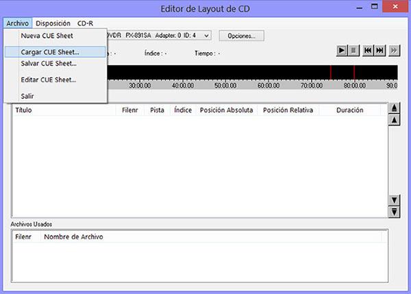 Como hacer una copia exacta de un CD de audio con EAC GRABAR02