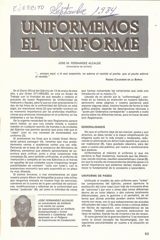 "Uniformes de Paseo (""de Romano"", ""de Bonito""). 1943-1990. 2012_04_16_11_20_02_0005"
