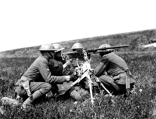 Ametralladora Hotchkiss M1914 AMET_HOT_expe_pgm