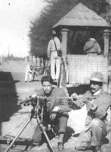 Ametralladora Hotchkiss M1914 AMET_HOT_REVOL_constitucion