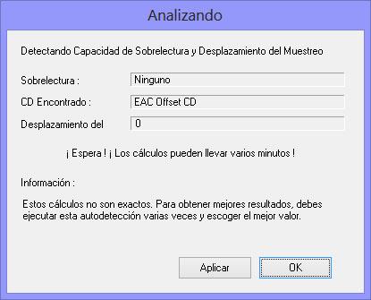 Como hacer una copia exacta de un CD de audio con EAC EAC09