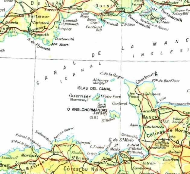 Ocupación Alemana de las Islas del Canal Inglés (30-6-1940) Islas_canal