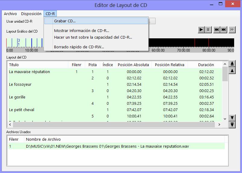 Como hacer una copia exacta de un CD de audio con EAC GRABAR03