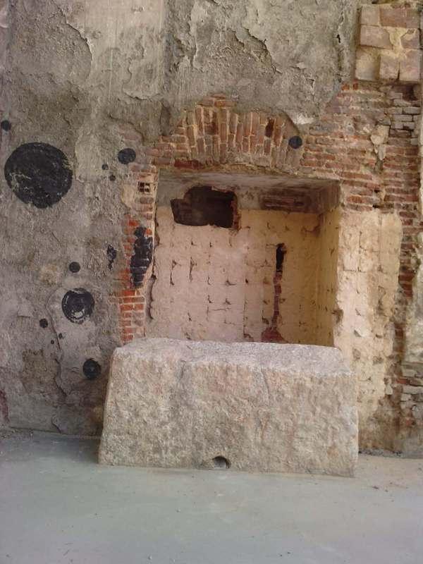 Nuevo tramo visible de la muralla cristiana P100512_14_010003