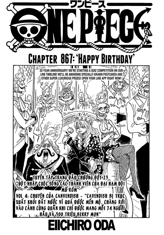 One Piece Chapter 867: Chúc mừng sinh nhật Image