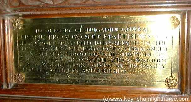 The Keynsham Light Horse Part 2 Fbmatthews04plq