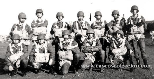 casco - Casco Mº M-I USA Paracaidista - BRIPAC Esbrip2