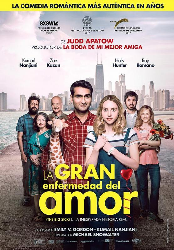 La gran enfermedad del amor (2017) [Ver + Descargar] [HD 1080p] [Castellano] [Romance] The_big_sick-194797777-large
